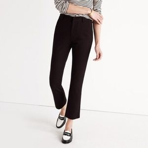 J.Crew Women's Teddie Black Wide Pants